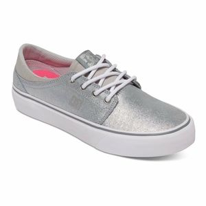 Silver DC Shoes Sneakers